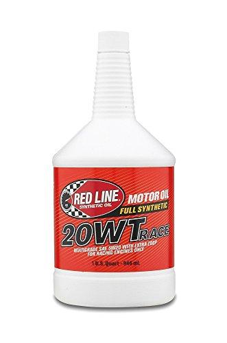 Red Line 10204 20 WT SAE 5W-20 Racing Motor Oil - 1 Quart, (Pack of 12)