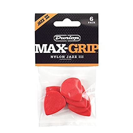 Amazon.com: PUAS DUNLOP - Nylon Jazz Max Grip (471P3N ...