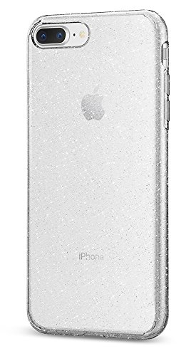 Spigen Liquid Crystal [2nd Generation] iPhone 8 Plus Case/iPhone 7 Plus Case with Premium Clarity for Apple iPhone 8 Plus (2017) / iPhone 7 Plus (2016) - Glitter Crystal Quartz