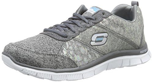 Flex Skechers Gry hollywood Kvinder Til Appel Sneakers Hills RfTqwgxf