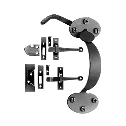 Acorn At9br Bean Thumb Latch, Smooth Iron - Acorn Hardware Cabinet Latches