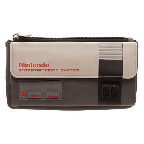 Nintendo Gamer Wallet Nintendo Gift - Gaming Wallet Nintendo Wallet by Bioworld