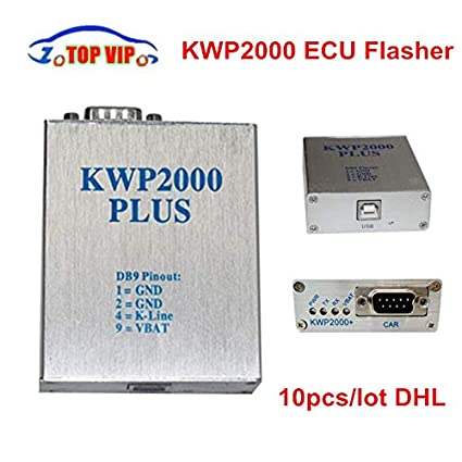 LKCAUTO Tech 10pcs DHL Free! Chip Tunning ECU KWP2000 Plus