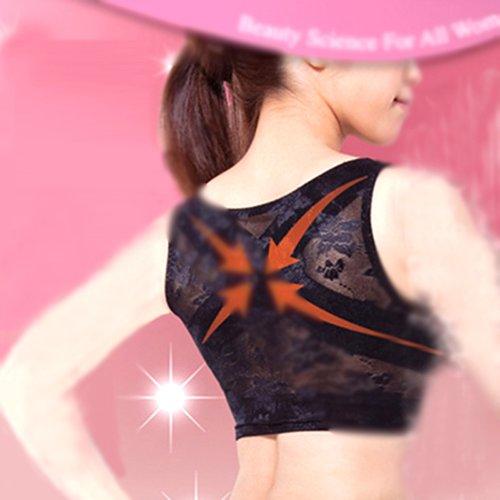 Black Posture Spine Support Enhancer