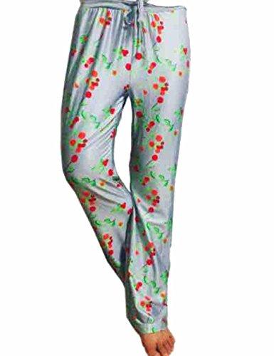 Cherry Femme Large Pantalon Longue Pantalons Imprimé Taille Plusieur Et Droites Legging Emma Multicouleurs Elastique Floral Nouveaux Flora gw1ZWdqZ