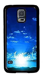 for cheap Samsung S5 cover Awesome Blue Sky Best PC Black Custom Samsung Galaxy S5 Case Cover