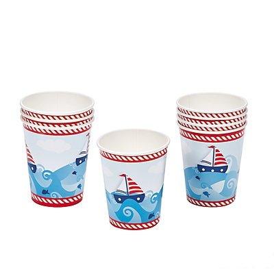 Fun Express 1st Birthday Sailor Cups