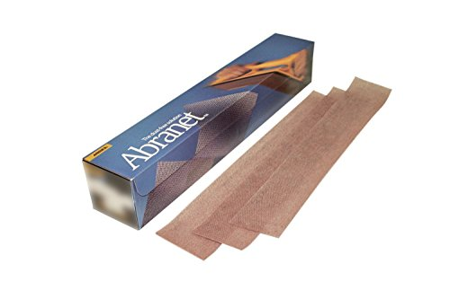 Mirka 9A-151-240   2-3/4 x 16-1/2-Inch 240 Grit Mesh Abrasive Dust Free Sanding Sheets,  Box of 50 Sheets