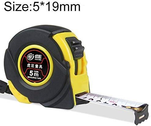 LIJIAN 長さ:5m幅:19mm、Hujiang 12 PCS耐摩耗カバー引き込み式定規測定テープポータブルプル定規ミニスカート巻尺