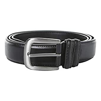 Venus Accessories Black Leather Belt For Men