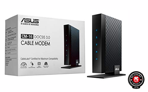 Asus Modem Router Combo - All-in-one DOCSIS 3.0 32x8 Cable Modem + Dual-Band Wireless AC2600 WIFI Gigabit Router - Certified by Comcast Xfinity, Spectrum, Time Warner Cable, Charter, and Cox