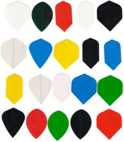 20 sets dart flights Assorted size slim, wide, kite, tear drop, vortex etc. wholesale price INCLUDES 1 SET OF TUF-FLITE DOUBLE THICK DART FLIGHTS DART BROKERS OWN
