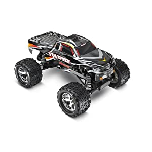 Traxxas Stampede 1/10 Scale 2WD Monster Truck with TQ 2.4GHz Radio, Black