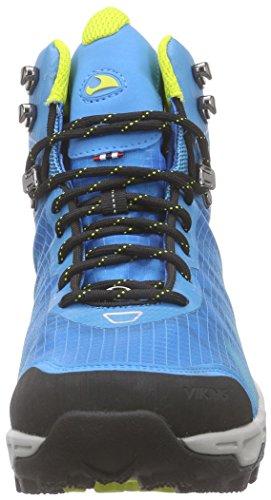 Scarpe Da Trekking E Da Trekking Viking Kuling Mid Gtx Donna Blu (blu / Giallo 3513)