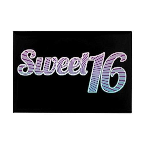 CafePress Sweet 16 Rectangle Magnet, 2