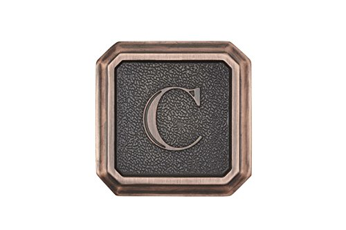 Architectural Mailboxes 3650ORB-C Aluminum Oil Rubbed Bronze Monogram - Letter
