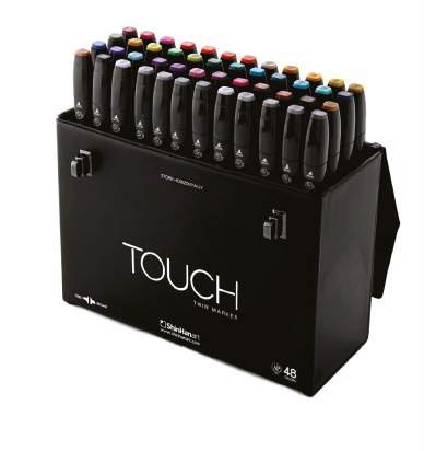 TOUCH TWIN 48 MARKER SET by TOUCH TWIN