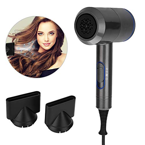 - yuyte Professional Hair Dryer 2000W, Hammer Shape Negative Ion and Constant Temperature with 2 Nozzles(#02)