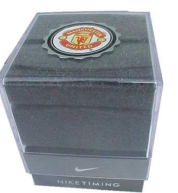 e2630ac8b413 Nike Triax Swift 3i Analog Manchester United Club Team Watch - Black ...