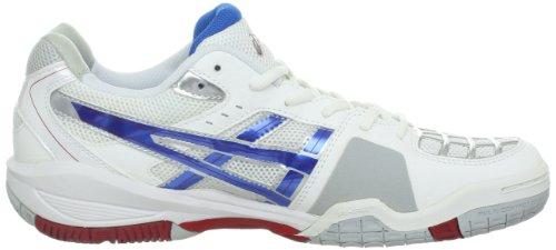 Asics Gel Blade White And Royal Squash Shoe Size