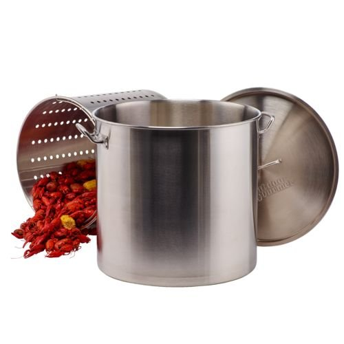 Outdoor Gourmet Pro 100 Qt Stainless Steel Pot With