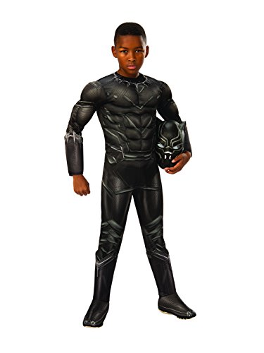 Rubie's Costume Captain America: Civil War Deluxe Black Panther Costume, Small]()