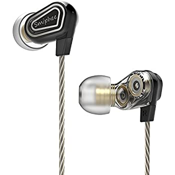 In Ear Headphones, Smiphee Super Bass Noise Isolation Wired Earbuds|Earphones with Microphone and Remote