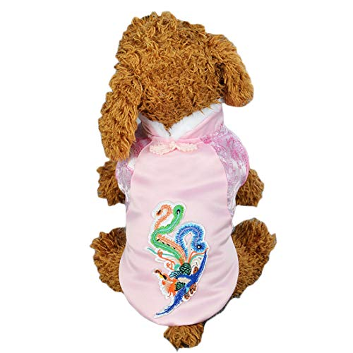 Pearlshop Large, Medium and Small Dogs, Tang Suit