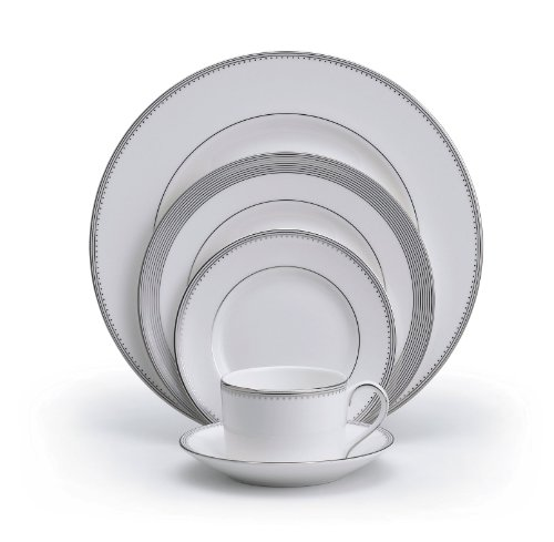 Wedgwood 5011647730  Vera Wang Grosgrain 5-Piece Place Setting, Service for 1