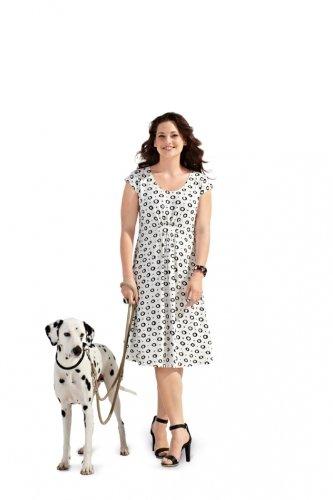 Patron de couture Burda 7100 robe tailles 44-60 tr/ès facile