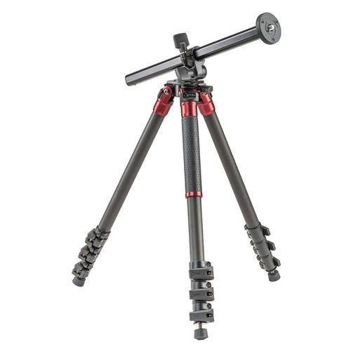 3Pod Orbit Carbon Fiber Tripod for DSLR Photo & Video Cameras, 4 Section Extension Legs, Bubble Level, with Bag. 69'' by 3Pod