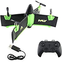 QWinOut JJRC X99A 2.4G 4CH RC Drone RTF Flying Wing Airplane with Altitude Hold Module