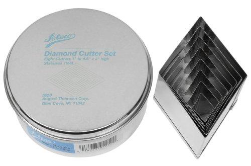 Ateco 5259 Diamond Graduated Stainless