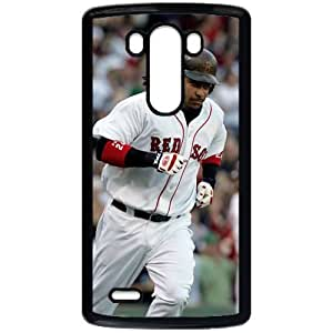 MLB&LG G3 Black Boston Red Sox Gift Holiday Christmas Gifts cell phone cases clear phone cases protectivefashion cell phone cases HMFN635586140
