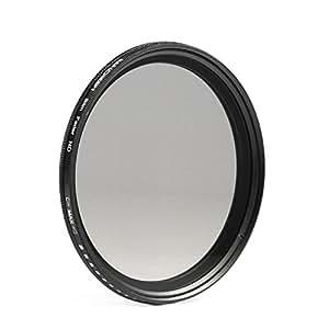 ARBUYSHOP 67 mm de espesor variable de filtro ND del atenuador ajustable ND2 a ND400 67mm de densidad neutra para Canon 7D 50D 60D envío gratuito