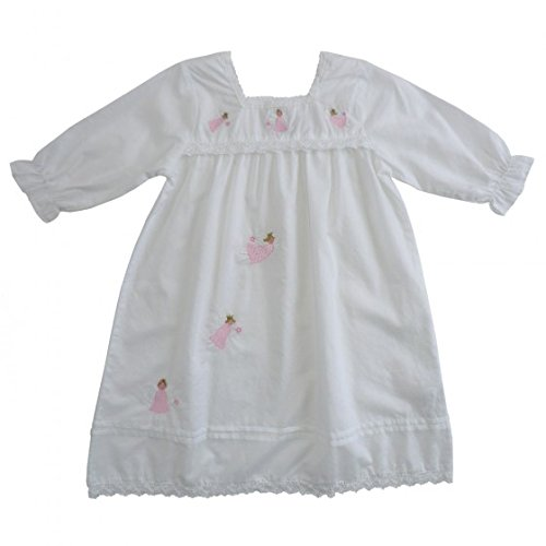 47118681597 100% Cotton Nightdress - Powell Craft - Maddy - Fairies Angels - 8-9 years   Amazon.co.uk  Kitchen   Home