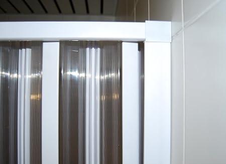 Mampara de ducha plegable ancho variable 80-95 cm puerta plegable ducha: Amazon.es: Bricolaje y herramientas