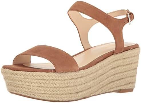 Nine West Women's Flownder Suede Wedge Sandal