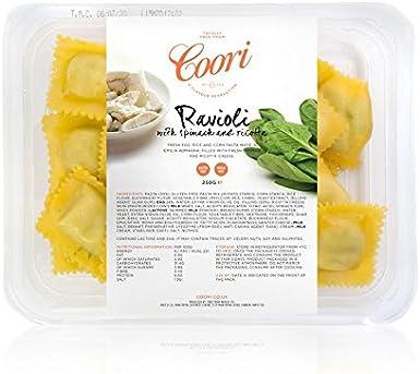 Queso de ricotta y espinacas sin gluten, 250 g