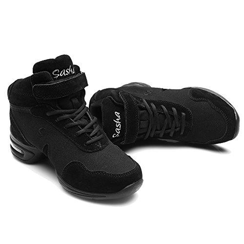 Femmes amp;Jazz Toile et Danse Baskets Sport B60 Baskets Hommes de Chaussures de Chaussons HIPPOSEUS Soft Air Modèle Gymnastique de Modern de de de Mesh Sneaker Plein q8E6U