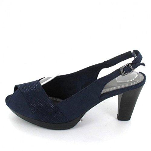 Marco Tozzi 2-2-29607-28-890 - Sandalias de vestir para mujer Azul