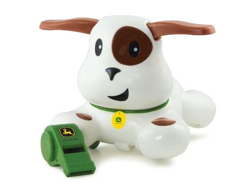 TOMY Ertl John Deere Whistle and Go Puppy