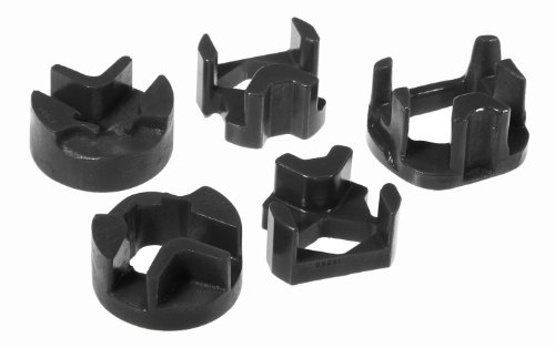 Prothane 4-1902-BL Black Softer Street Style All 3 Mount Kit