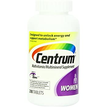 Centrum Women (100 Count, Pack of 2) Multivitamin/Multimineral Supplement Tablet, Vitamin D3