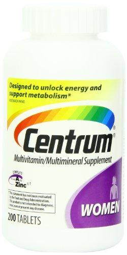 CENTRUM - MULTI VITAMINES POUR FEMMES - 200 CAPSULES