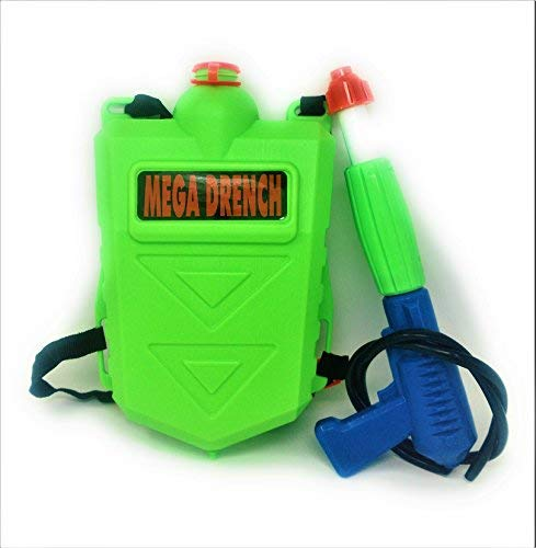 High five New Squirt gun water toy mega drench tank backpack water blaster - Soaker Water Gun