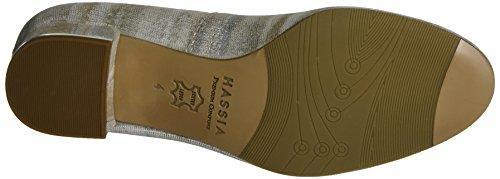 Hassia 3-303816, Zapatos de Tacón Mujer Blanco (Perlweiß)