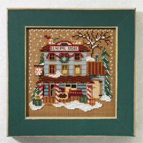 mill-hill-mh147303-general-store-beaded-counted-cross-stitch-kit-buttons-beads-2007-winter-christmas