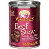 Wellness Beef Stew with Carrots and Potatoes Canned Dog Food, My Pet Supplies
