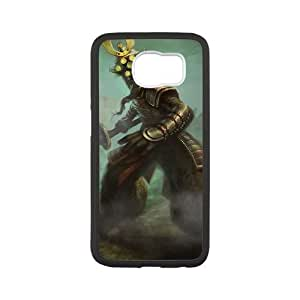 Samsung Galaxy S6 Cell Phone Case White League of Legends Yi create cell phone case hgjk7155924